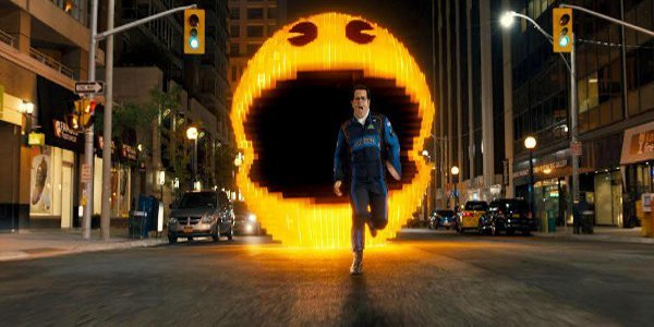 "How Pac-Man, Donkey Kong Became Giant Pixelated Creatures in ""Pixels"""