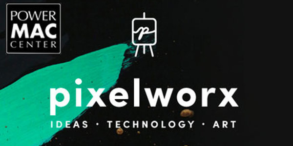 Power Mac Center celebrates art and technology with Pixelworx
