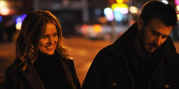 Chris Evans and Alice Eve in Serendipitous Encounter in Before We Go