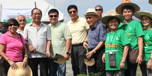 """Diamond Jubilarians 2015 Plant A Legacy Of Caballero Trees!"""
