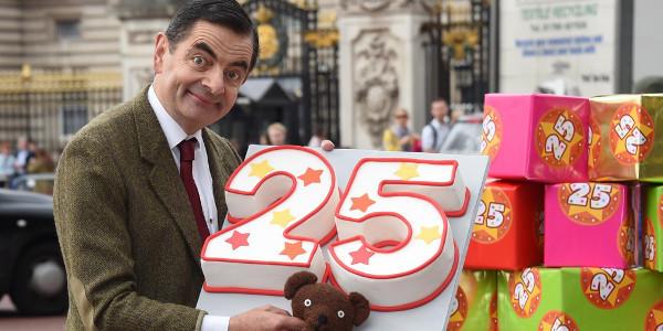 Rowan Atkinson's Mr. Bean Brings Mayhem in His Mini