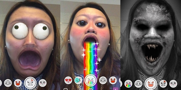 Snapchat adds lenses and now lets you pay to replay Snaps