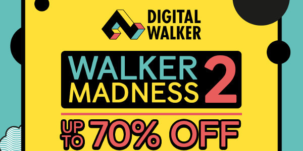 Read more about the article Holiday Sale Season in Full Swing with Digital Walker Madness Sale