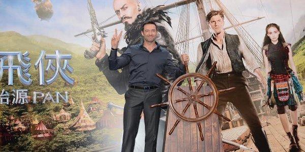 "Hugh Jackman Meets HK Fans, Joins Dragon Parade for ""Pan"""