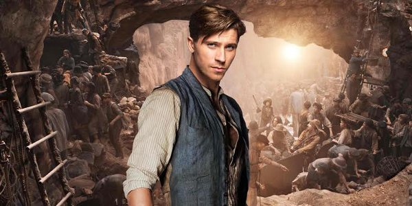 "Garrett Hedlund is James Hook, Future Captain, in ""Pan"""