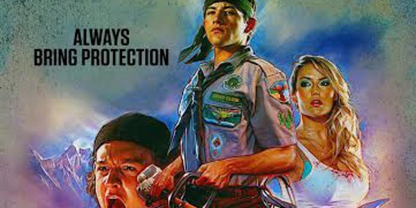 """""""Scouts Guide"""" Posters Advise """"Always Bring Protection"""""""