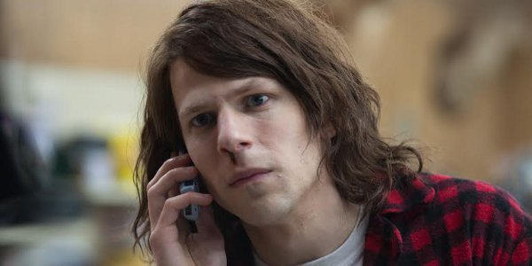Jesse Eisenberg, the Stone Assassin in American Ultra