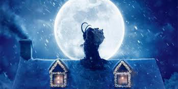 Scary Creature Intrudes in New Krampus One-Sheet