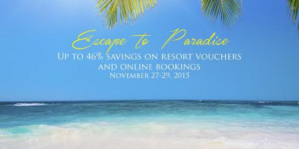 Escape to Paradise a Grand Pre-Christmas Voucher Sale by Shangri-La's Boracay Resort & Spa