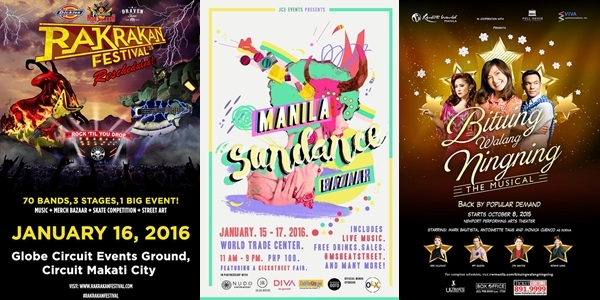 Weekender Guide: January 15, 16 and 17, 2016