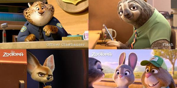 Meet the Inhabitants of Disney's Zootopia