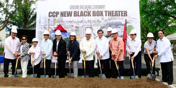 Ground Breaking for CCP's New Black Box Theater Set