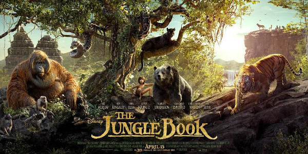 "Triptych Poster Revealed for Disney's ""The Jungle Book"""