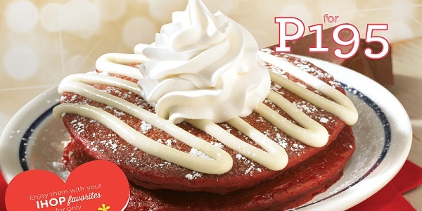 IHOP Philippines Spreads Happiness in the Season of Hearts with their New Red Velvet Pancake Combo