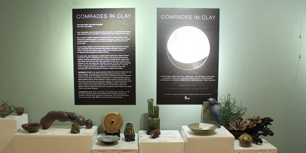 Globe Art Gallery features Comrades in Clay as first exhibit for 2016