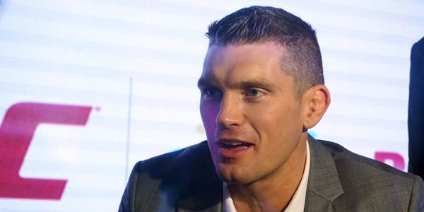 """IN PHOTOS: Stephen """"Wonderboy"""" Thompson at the Smart Bro and UFC Partnership Media Launch"""