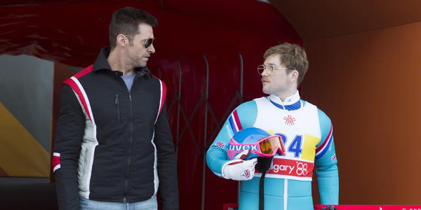 Olympics' Triumphant Underdog Soars in  Eddie the Eagle on April 6