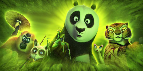 Returning and new Cast in Dreamworks' Action-Packed Animation Kung Fu Panda 3