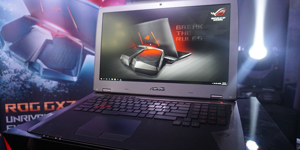 Republic of Gamers launches ROG GX700, the world's no. 1 gaming laptop
