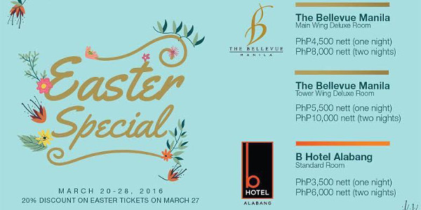 Holy Week Retreat and Dragons, Easter Activity at The Bellevue Manila
