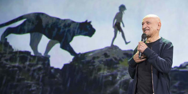 Ben Kingsley is the Voice of Panther, Bagheera, in The Jungle Book