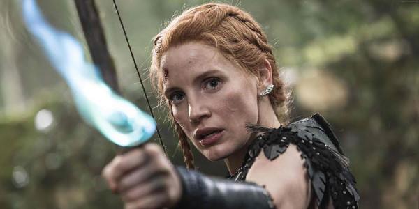 "Jessica Chastain, Fierce Warrior in ""The Huntsman: Winter's War"""