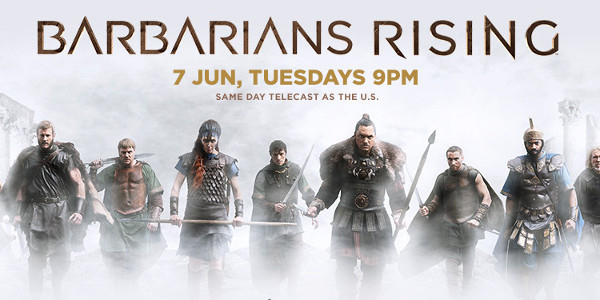 History Channel premieres Barbarians Rising on June 7