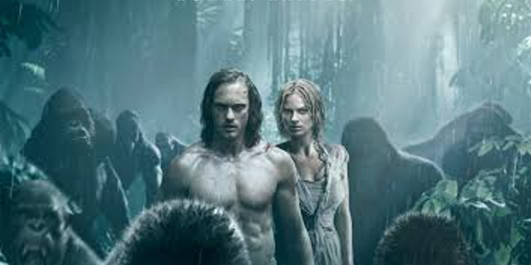 tarzan jane one with the apes in the legend of tarzan main poster clickthecity movies. Black Bedroom Furniture Sets. Home Design Ideas