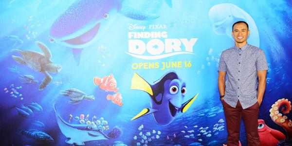 Homecoming for Disney/Pixar's Finding Dory Filipino Sketch Artist, Paul Abadilla
