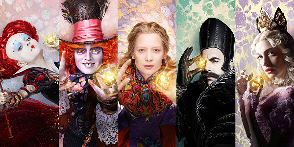 'Alice Through the Looking Glass' Reunites Quirky Characters