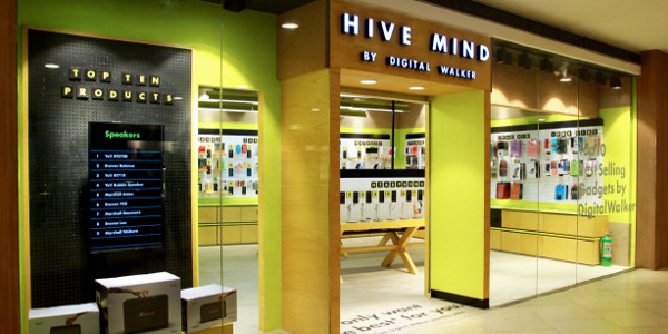 Digital Walker Takes Shopping for Digital Accessories to New Heights with Hive Mind