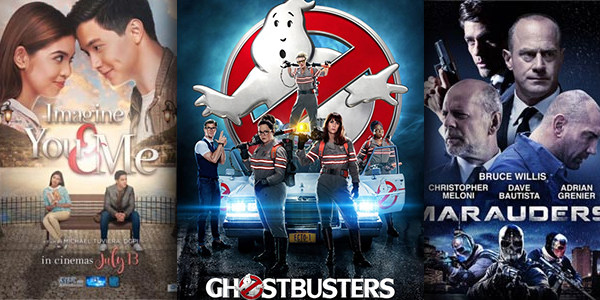 New Movies This Week: Ghostbusters, Imagine You and Me and more!