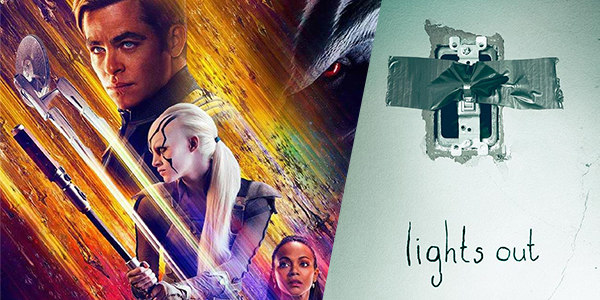 New Movies This Week: Lights Out, Star Trek Beyond and more!
