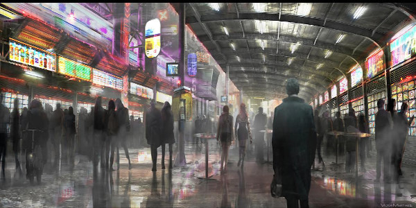 """Read more about the article Untitled """"Blade Runner"""" Sequel Unveils First-Look Concept Art"""