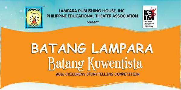 Batang Lampara Kuwentista Storytelling Competition 2016 Returns