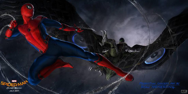 'Spider-Man: Homecoming' Swings Into San Diego Comic-Con 2016