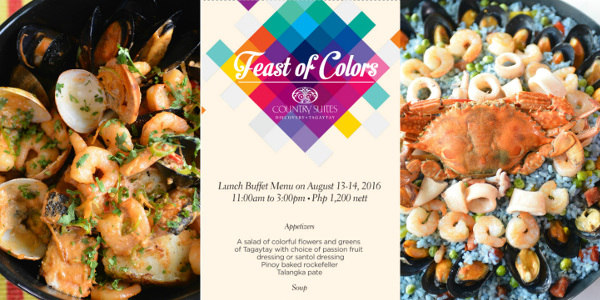Celebrate the Feast of Colors at Discovery Country Suites