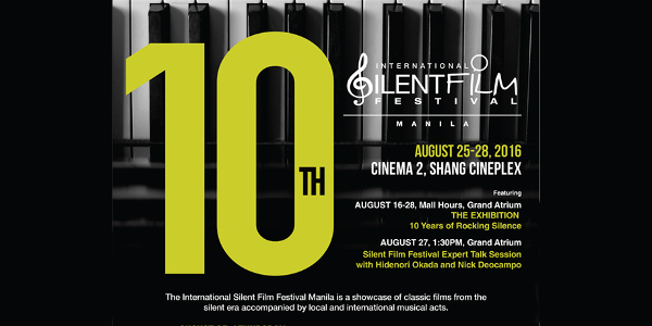 10th International Silent Film Festival