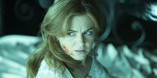 """Isla Fisher and Jim Parsons in Horror Movie """"Visions"""" aka """"Nightmares"""""""