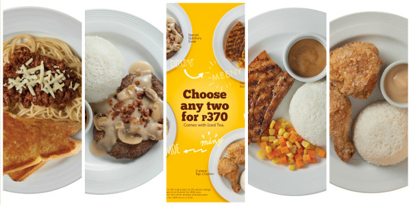 Pancake House lets you 'Choose any Two' for only P370