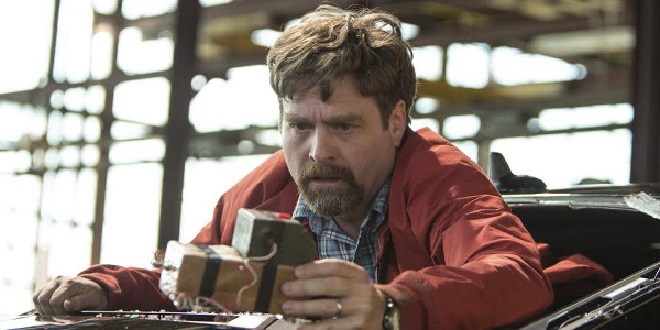 Hangover's Zach Galifianakis Gives Comedy-Action Role New Twist in Keeping Up With The Joneses