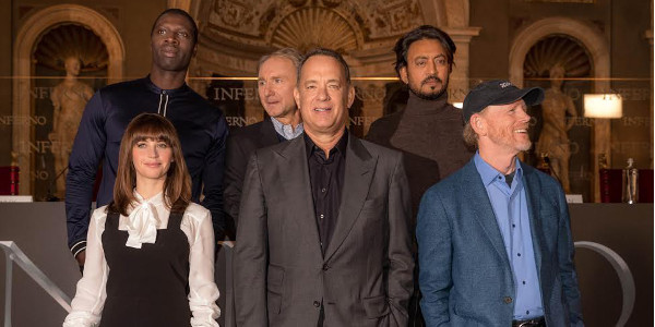 Inferno Stars in Florence for World Premiere