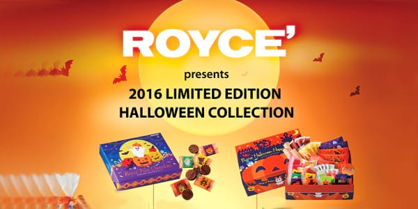 Celebrate Halloween with Limited Edition Chocolates from Royce'