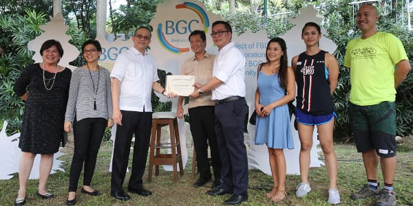 Longest urban park in Metro Manila opens in BGC