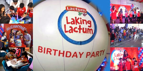 These 100% Panatag Moms and Kids Were In For a Surprise at the First Ever Laking Lactum Birthday Party