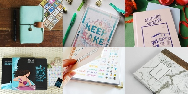 Hello, 2017: All The Must-Have Planners and Journals That Will Help You Get Your Life Together​