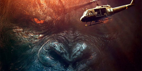 WATCH: New 'Kong: Skull Island' Trailer Unleashes Rip-Roaring Adventure