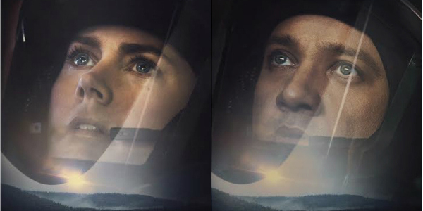 """Adams, Renner Face the Unknown in Their """"Arrival"""" Posters"""
