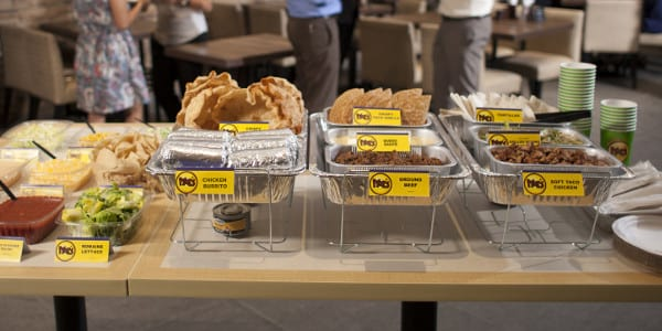 Bring Moe's to your next office party