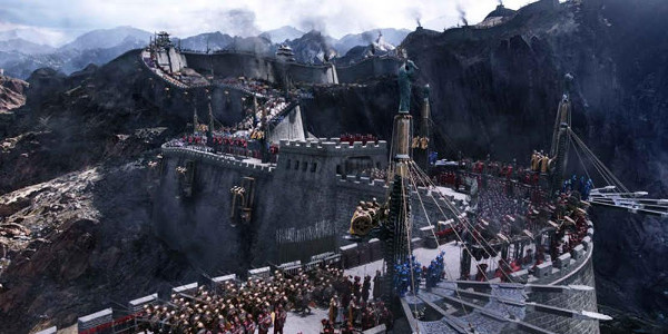 Fantasy Adventure Imagines What Lies Beneath The Great Wall